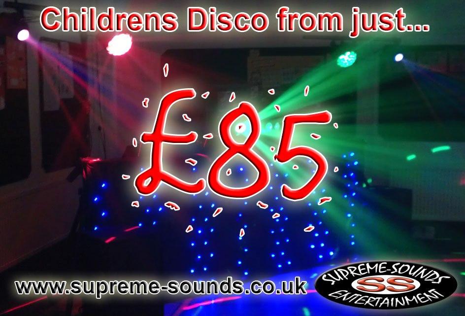 Kids disco supreme sounds entertainment