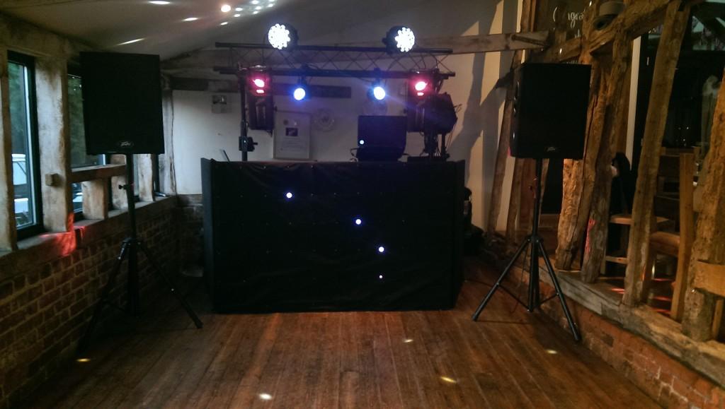 Jimmys farm wedding disco