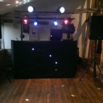 Jimmys farm wedding disco